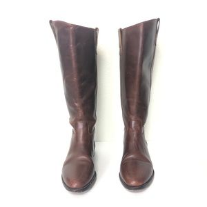 Cole Haan | Leather Riding Boots